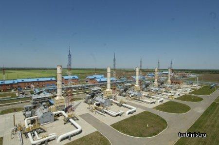 Компрессорная станция магистральных газопроводов