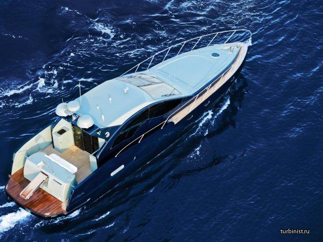 Скоростная глиссирующая яхта российского производства - Pioneer C54