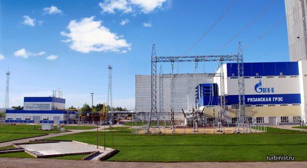 Работа ГРЭС Рязанской после модернизации 7-го энергоблока