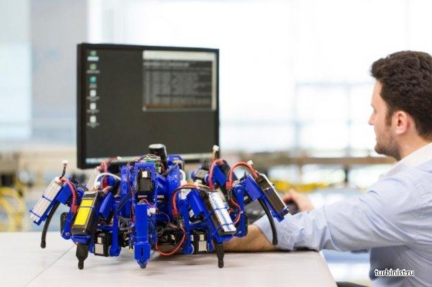 Пауки-роботы от Siemens могут привести к новой НТР