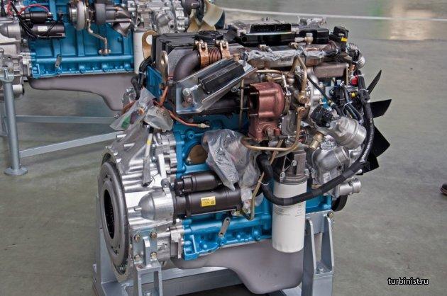 Газовый мотор ЯМЗ-530 CNG