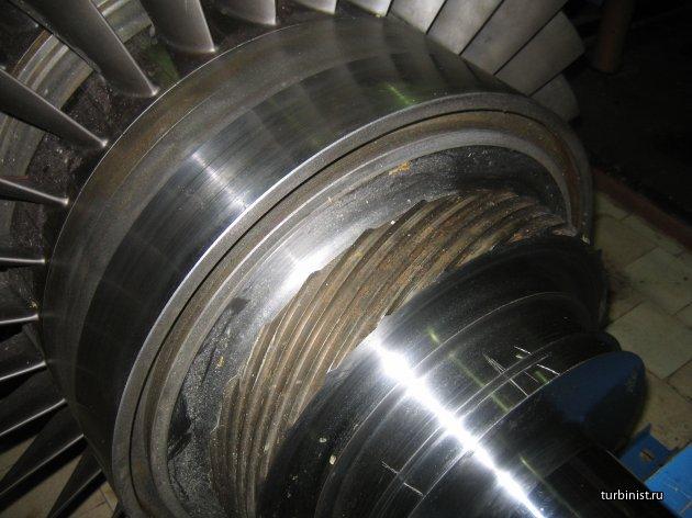 Детали турбины ГТК-10-4 (Часть 1)