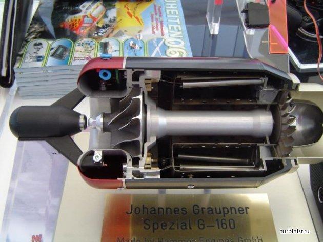 Газовая микротурбина от JetCat