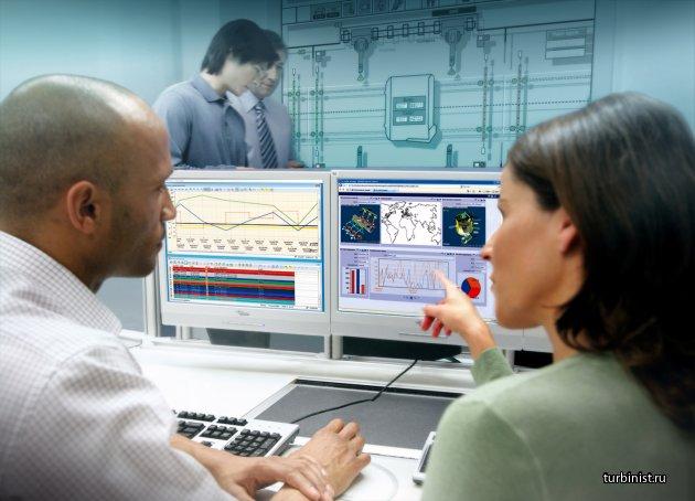 Удаленный мониторинг газовых турбин и оборудования