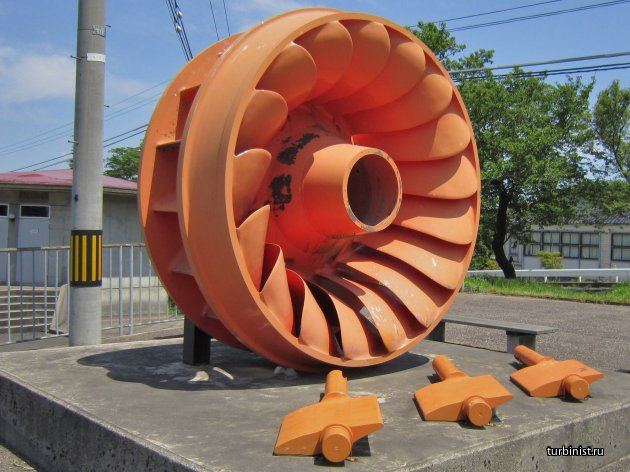 Радиально-осевая гидротурбина или турбина Фрэнсиса